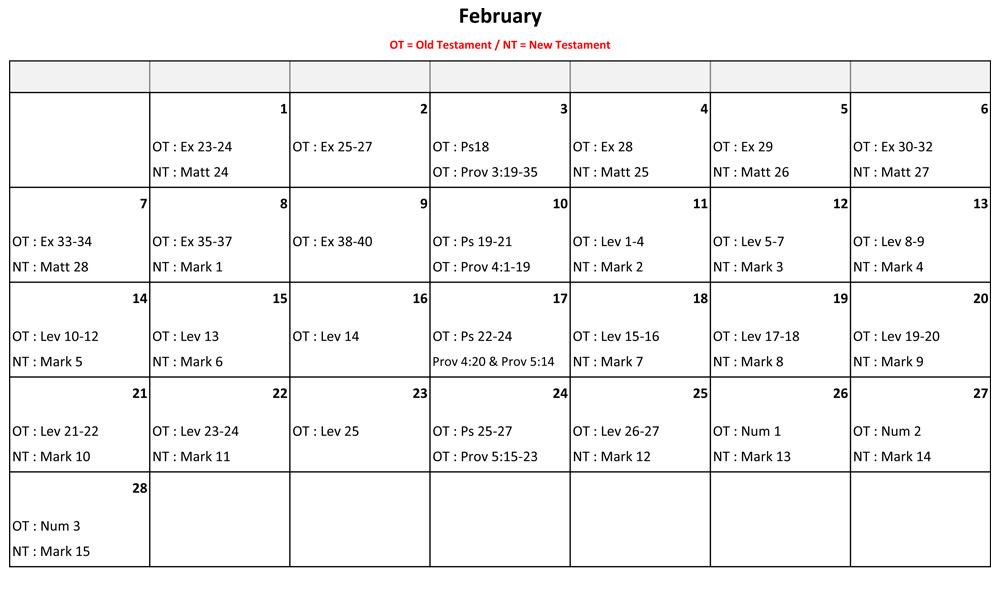 February-Bible-Reading