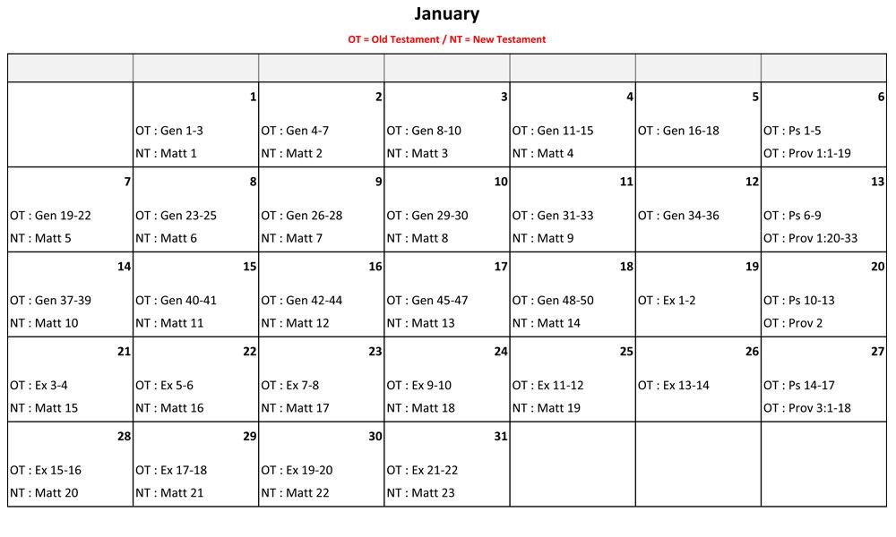 January-Bible-Reading
